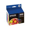 Epson Original OEM T200520 TriColor Ink Cartridges (Epson T200)